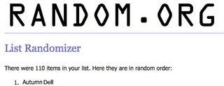 Blog Winner 1-2011