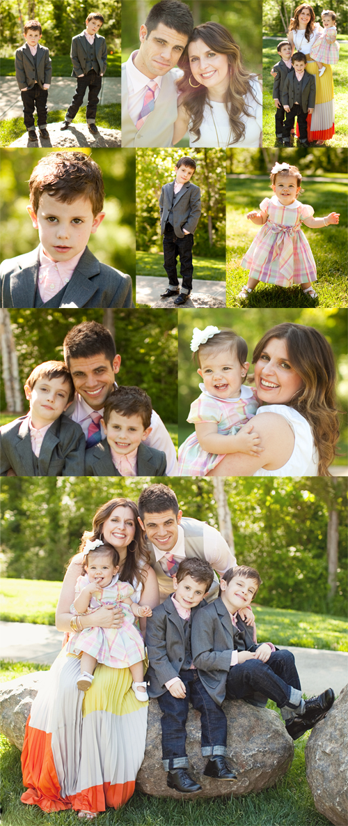 EasterFamilyPics2012Collage